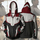 Avengers 4 Endgame Advanced Tech Hoodies Sweatshirts Cosplay Sweater Jacket Coat