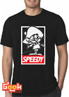 FUNNY SPEEDY GONZALES OBEY T-Shirt - SPEEDY T SHIRT JDM T-SHIRT ALL SIZES image