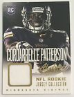 Lot Of 4 Cordarrelle Patterson Rookie Cards Includes Jersey New England Patrios