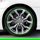 26FT Car Wheel Hub Rim Edge Protector Ring Tire Guard Line Rubber Strip Sticke