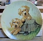 """""""Gone Fishin"""" Collector Plate 1st Issue of the Field Trips Collection 1991"""