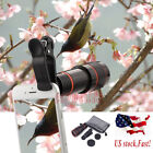12X Zoom Optical Clip-on HD Telescope Phone Camera Lens For iPhone Samsung Phone