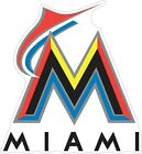 "Miami Florida Marlins MLB Vinyl Decal - You Choose Size 2""-28"" on Ebay"