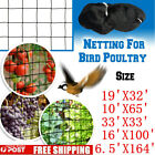 8 Sizes Anti Bird Netting Garden Net Poultry Aviary Game Nylon/Polyethylene Mesh