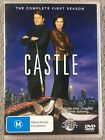 Castle : Season 1 (DVD, 2010) Region 4
