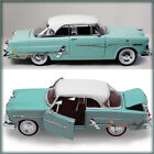 WELLY 1953 FORD VICTORIA TEAL-GREEN 1/24 DIECAST MODEL CAR UN-BOXED NEW