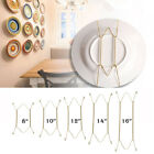 """1Pc W Type 8"""" to 16"""" Hook Wall Display Plate Dish Hanger Holder Home Decor"""