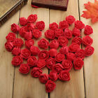 50 Head Small Artificial Fake Rose Foam Flower Wedding Party Holiday Home Decor