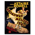 Movie Film Broadway Melody 1940 Astaire Dance Powell 12X16 Inch Framed Art Print