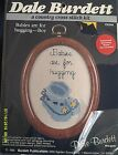 "Dale Burdett ""Babies are for Hugging"" Cross Stitch Kit Size 3"" x 4"" Date 1985"