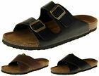 Mens Dunlop Faux Leather Strappy Casual Summer Beach Pool Sandals 7 8 9 10 11 12