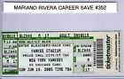 Mariano Rivers Career Saves #352, 382, 387, & 391 Full Tickets