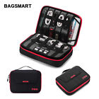 BAGSMART Universal Travel Cable Organizer Electronics Accessories Carry Bag