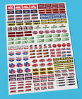 RC MONSTER TRUCK 10th 1:10 Radio Control scale Sponsor logo stickers decals