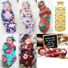 Kyпить US STOCK Organic Cotton Swaddle Blanket Newborn Baby Wrap Sleeping Bag Sleepsack на еВаy.соm