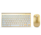 Wireless Keyboard And Mouse Combo Set 2.4G For Pc Windows Full Size Slim