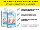 ToothFIX - Temporary missing tooth filler cosmetic false teeth denture