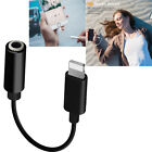 Lightning to 3.5mm/Lightning AUX Adapter Headphone Jack For Phone XS X 7 8 Plus