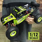 Ready To Run 1/12 2.4G RC Cars Off-road Rock Crawler Climber Extreme Fast Racing