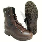 British Army - Female Haix Cold Wet Weather Full Leather Brown MTP Boots Surplus