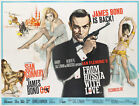 James Bond 007 From Russia with Love Vintage Movie Poster Canvas A4 A3 A2 A1 A0 £2.49 GBP on eBay