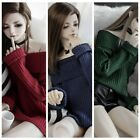 3 Colors Sweater  For 1/3 AOD SD17 DZ70 Girl Female Doll Dollfie Outfit
