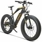 MZZK Electric Mountain Bike with 500W Brush-Less Geared Motor, Falcon <br/> 48V 13Ah Li-on Battery and 26 Inch Fat Tires