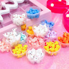 5PCS/10PCS Animals Slime Accessories DIY Toy Resin Fluffy Filler Slime Supplies image