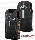 New Brooklyn Nets #1 D'Angelo Russell Swingman Jersey Black Size S -XXL on eBay