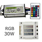 LED Diode RGB Chip+Driver+Remote 1 Set 24 Key COB Dimmer 30W Colorful