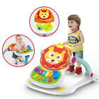 Sit-to-stand Baby Walker Stroller Multi-Function Stroller Toddler Hand Trolley
