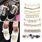 Shoelaces Clips Decorations Charms Faux Rhinestone Pearl Shoes Accessories Gifts