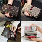 Fashion Women Purse Leather Wallet Long Card Mobile Holder Clutch Handbag New image