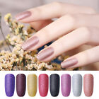 NICOLE DIARY 6ml Water Based Pearl Matte Nail Polish Glitter Nail Art Varnish