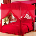 Mosquito net Brand canopy for Chinese wedding bed Indoor decorations bed linings image