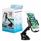 Car Mount Phone Holder Dash/Windshield iPhone Xs Max XR X 8/7 Plus Samsung S10 9