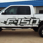 Fits Ford F-150 F150 Side Splash Grunge Vinyl Decal Graphic Pickup Bed Truck Cab