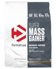 Dymatize Super Mass Gainer Massive Gains with Calories Carbs Vitamins 6,12 Lbs $46.97 USD on eBay