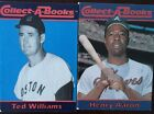 Atlanta Braves Hank Aarron & Boston Red Sox Ted Williams 1990 Collect-A-Books