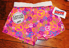 NWT Soffe shorts cheer soccer Cheetah Peace Animal reptile M Medium 8 10
