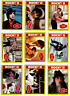 ROCKY II COMPLETE VINTAGE 99 TRADING CARD SET + ALL 22 STICKERS NEAR MINT 1979