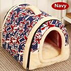 Dog Cat Mats Mattress House Pet Beds Nest Kennel Foldable Removable Detachable