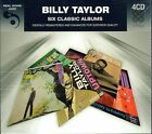 Billy Taylor~Six Classic Albums~BRAND NEW 4 CD BOX SET~Free Fast 1st Class Mail