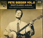 Pete Seeger Vol. 2~Eight Classic Albums~BRAND NEW 4 CD SET~Free 1st Class Mail