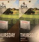 Two Thursday Tickets To 2019 PGA Championship - Bethpage Black -FREE SHIPPING! For Sale