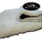 FLUFFY CHEAP SOFT CARPETS SHAGGY 'NARIN CREAM' HIGH QUALITY nice in touch