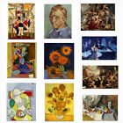 Abstract Classical Retro Oil Painting Canvas Poster Print Picture Art Wall Decor