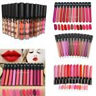 Beauty Makeup Liquid Lip Gloss Lipstick Matte Waterproof Long Lasting 12 Colors