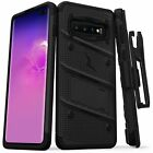 Samsung Galaxy S10+PLUS Case ZIZO BOLT with rotatable holster Clip and KickStand