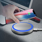Universal Wireless Charging Power Charger Pad For Smart Cell Phone